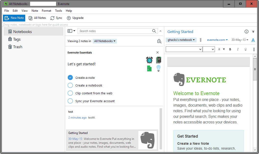 How to migrate from Evernote to OneNote - gHacks Tech News