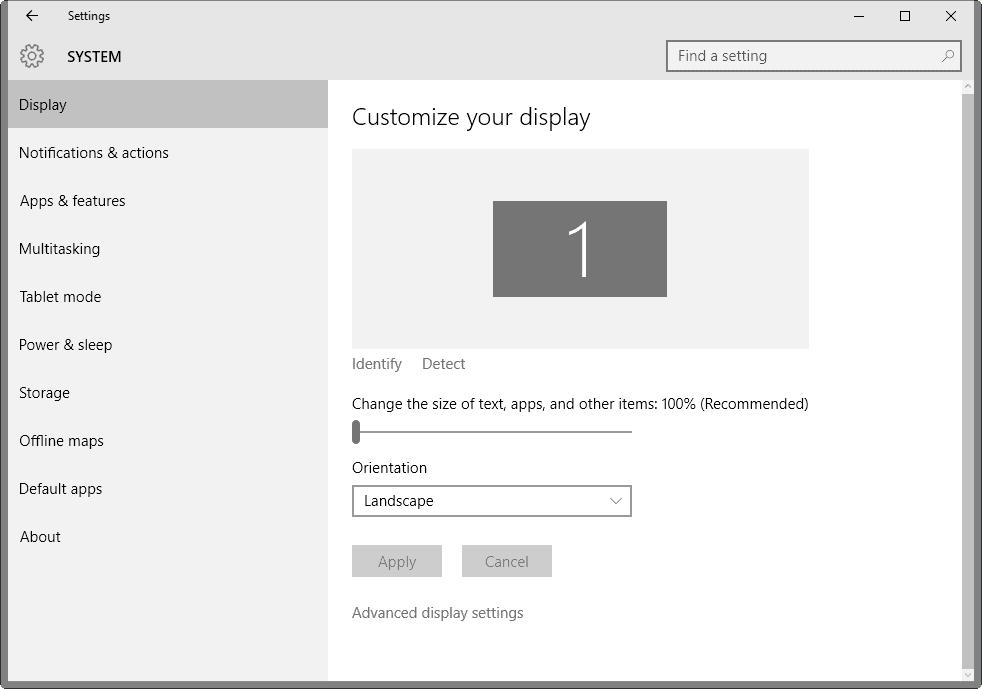 customize text size