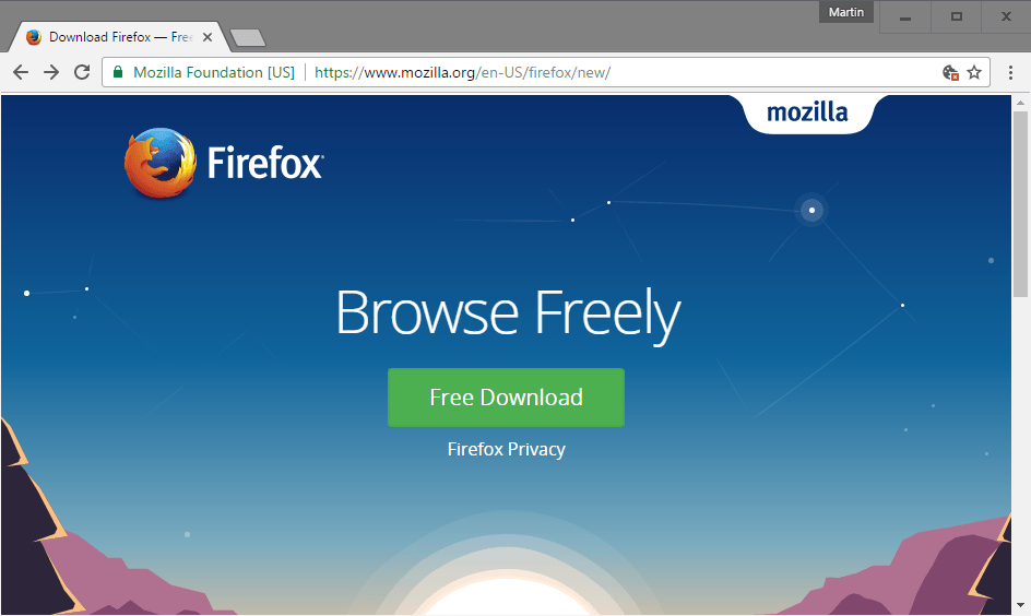 Mozilla reveals its firefox 64-bit for windows plan browser engine.