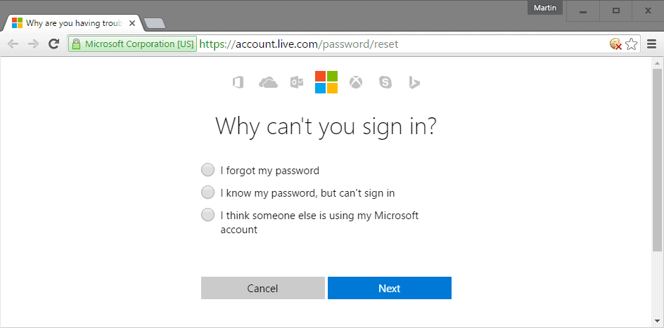How to reset your Windows 10 password
