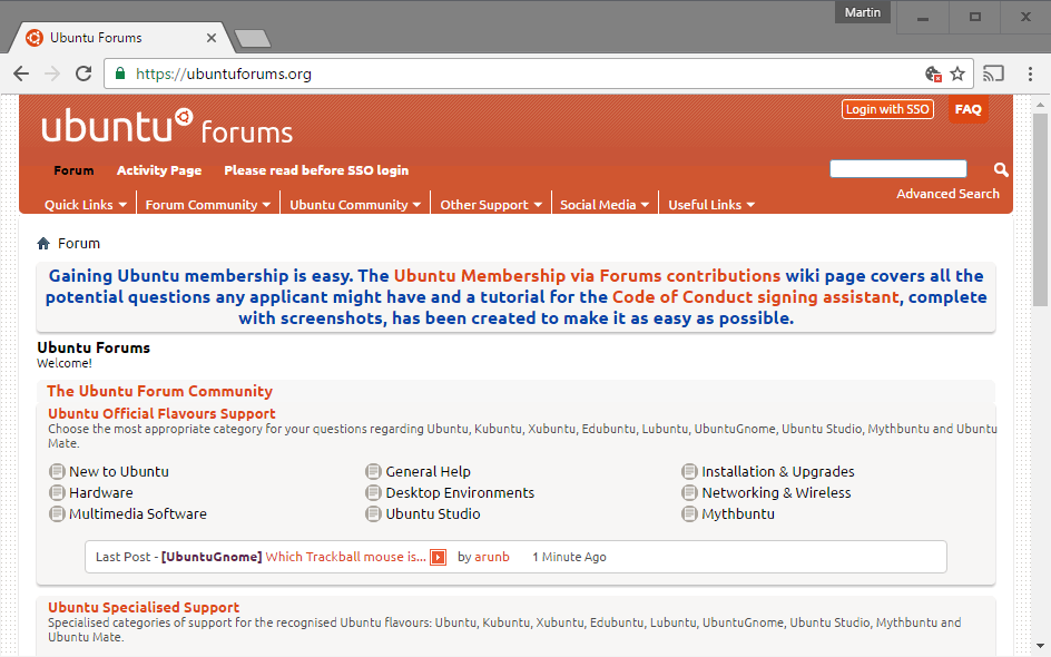 Ubuntu Forums security breach