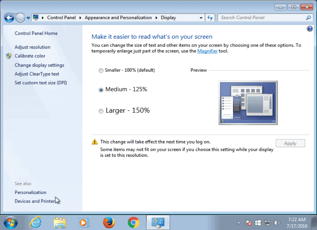 windows 7 dpi