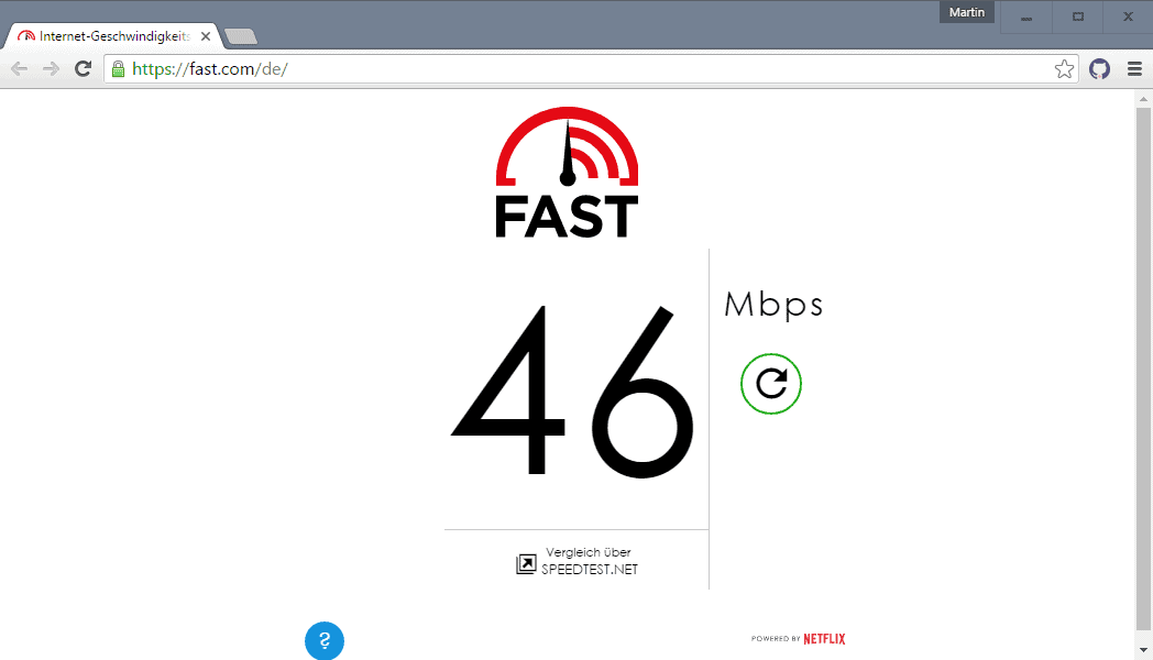 Internet Connection speed tests with HTML5
