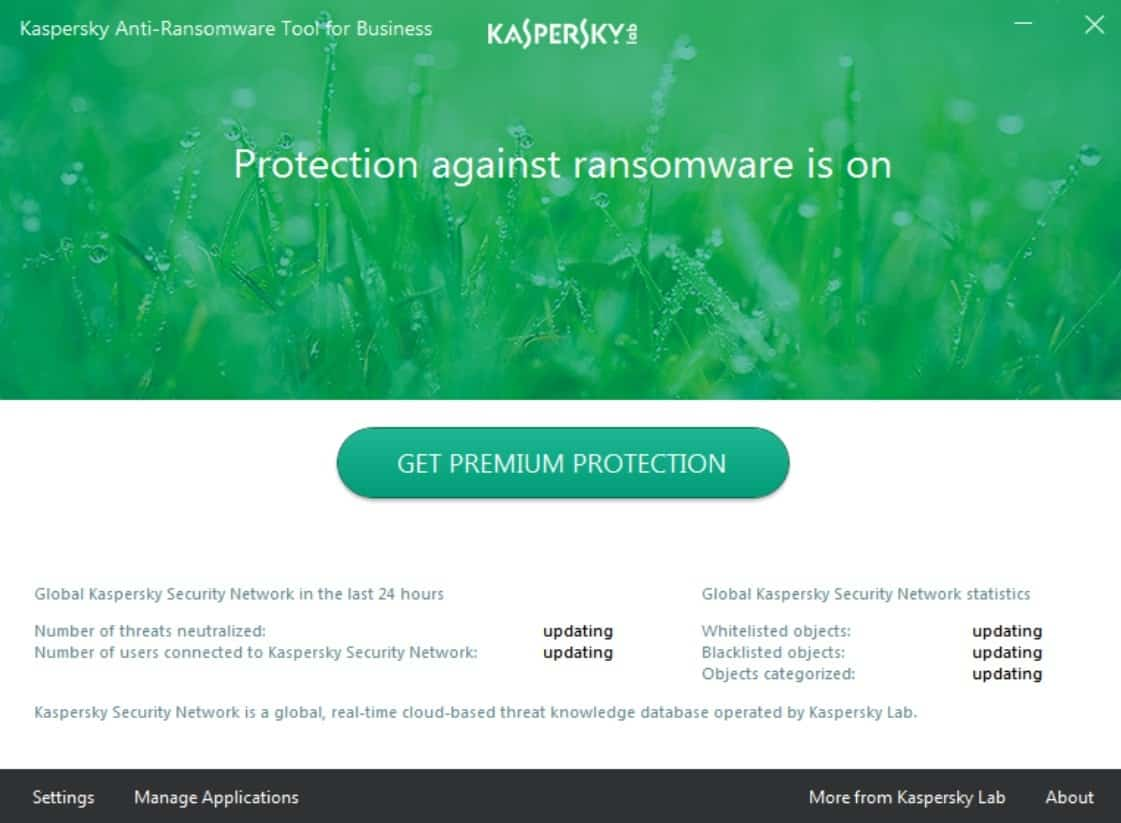 kaspersky cannot disable self defense