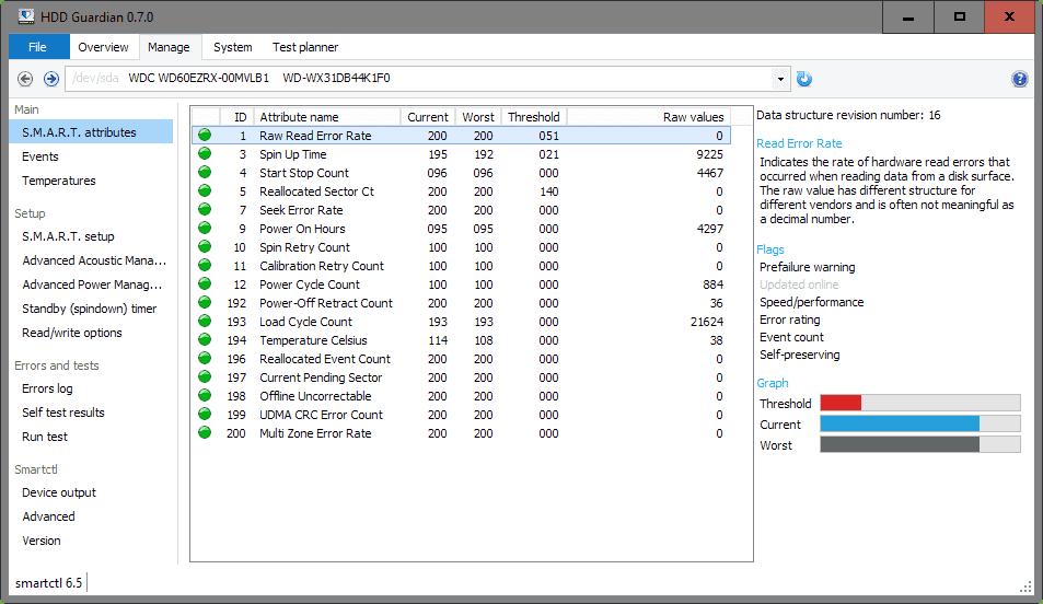 manage hard drive