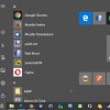 windows 10 favorites start menu