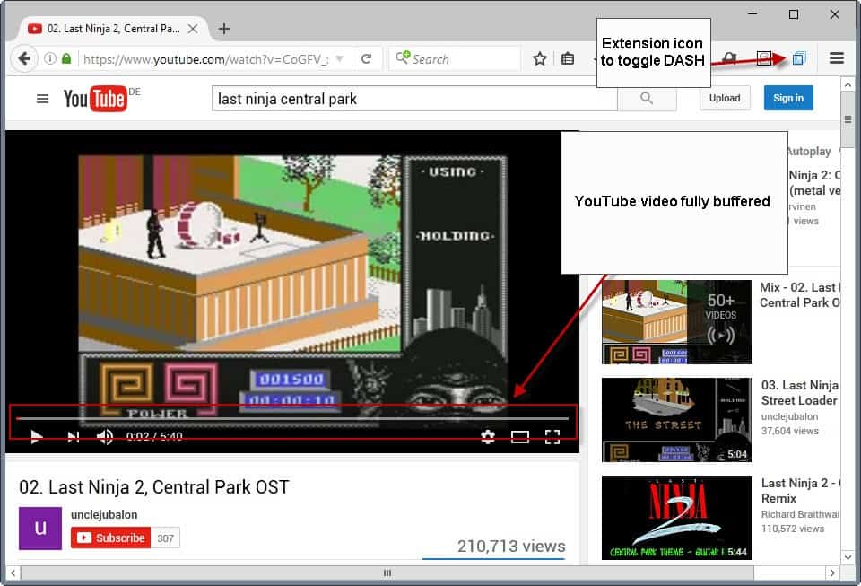 youtube fully buffer videos