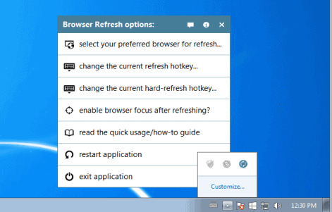 browser refresh