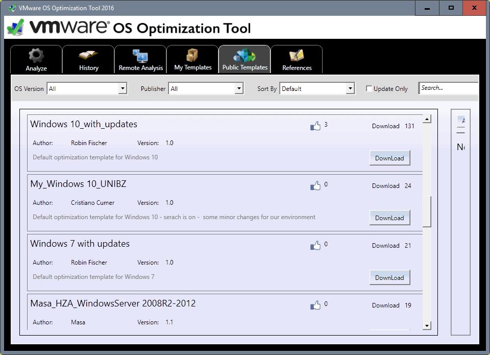download tweak templates