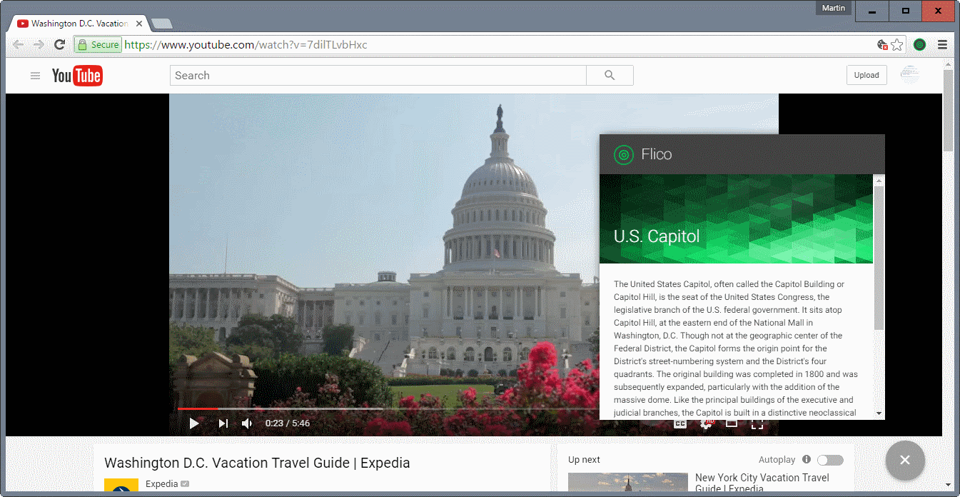 flico youtube identify landscapes