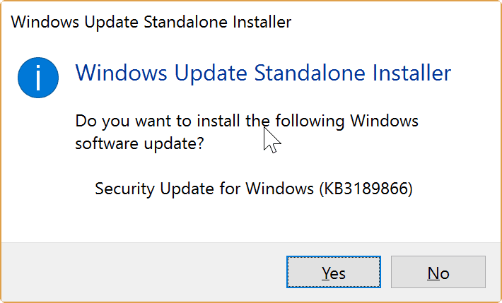 windows update stuck kb3189866