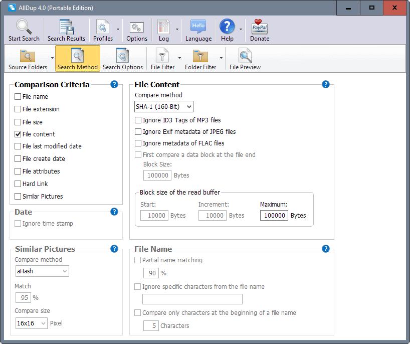 alldup 4 interface