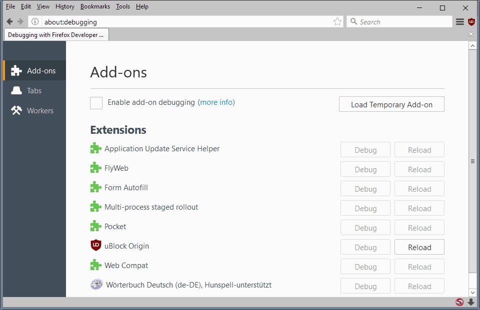 ublock origin webextension firefox
