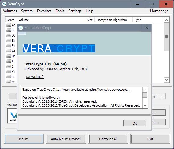 veracrypt 1.19