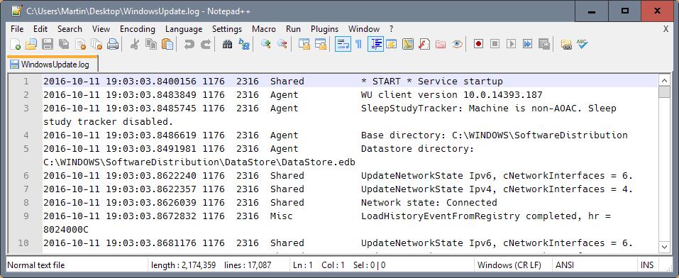 windowsupdatelog