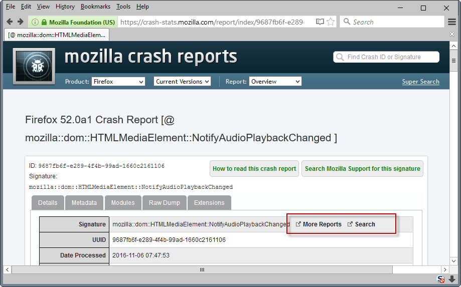 more reports