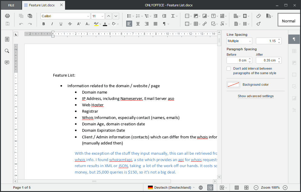 ONLYOFFICE: Microsoft Office LibreOffice alternative