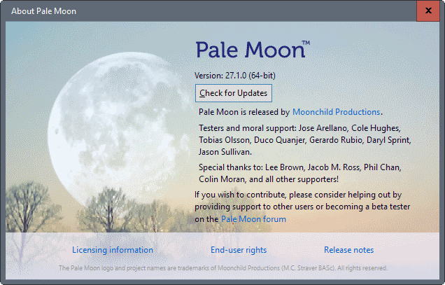 pale moon 27.1