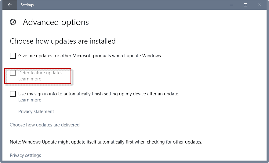 Windows 10 Anniversary Update declared Current Branch for Business