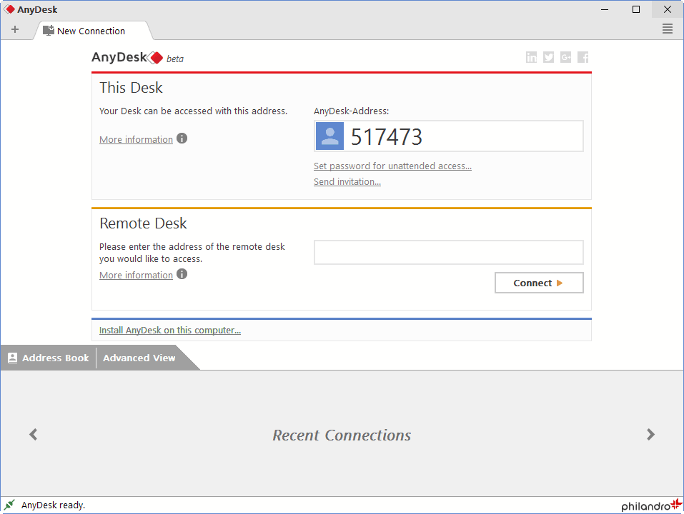 AnyDesk 3.0 Beta First Look