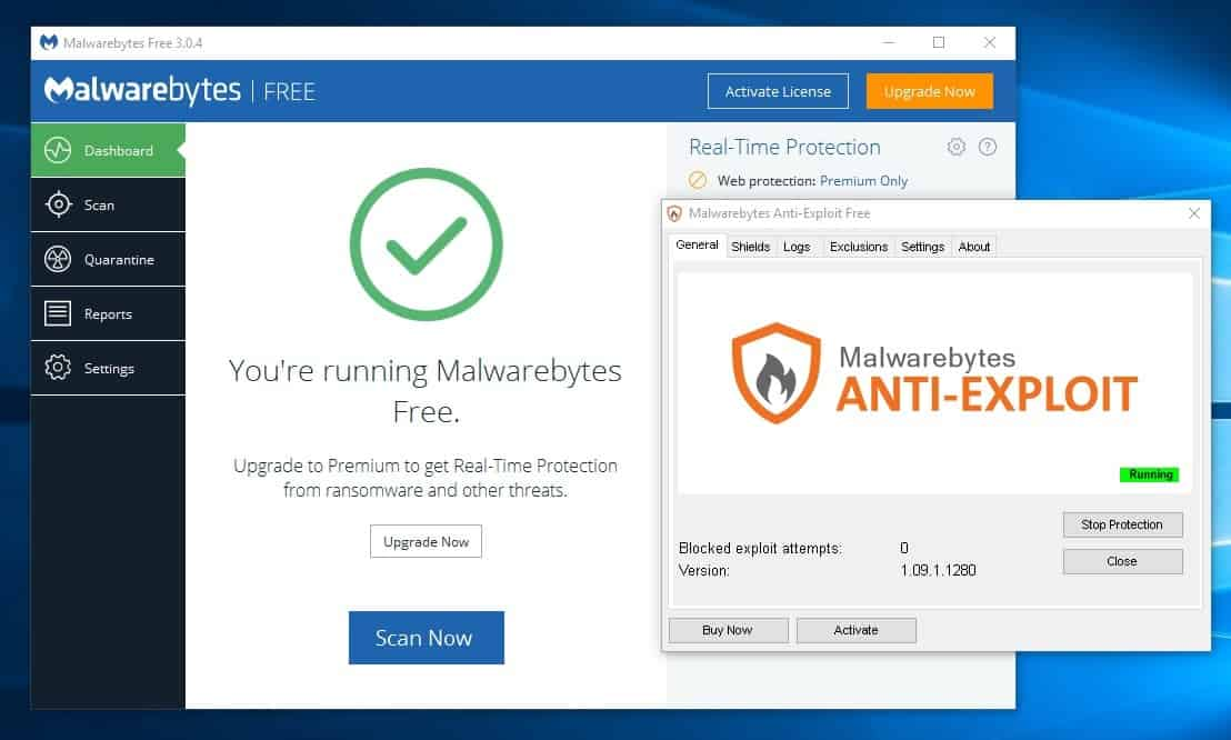Malwarebytes Anti Exploit Standalone Information Ghacks Tech News