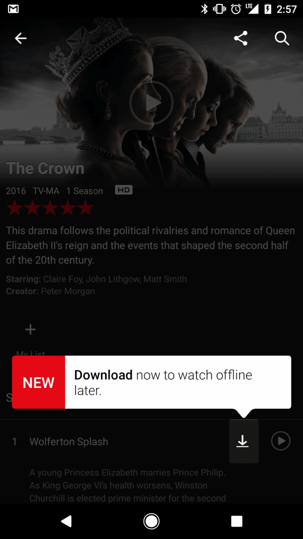 Here is why you can't download Netflix content to your