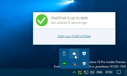 onedrive old flyout