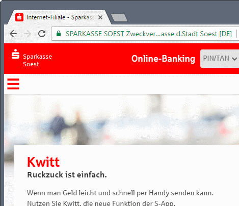 German Bank: That'll be one cent per click, thanks!