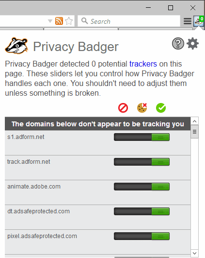 Anti-Tracking extension Privacy Badger 2 0 is out - gHacks Tech News