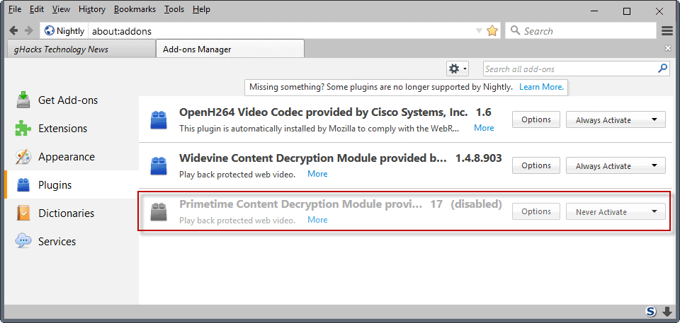 adobe primetime html5 content decryption module download