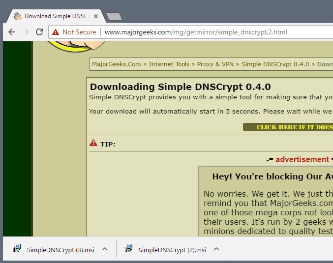 chrome duplicate downloads