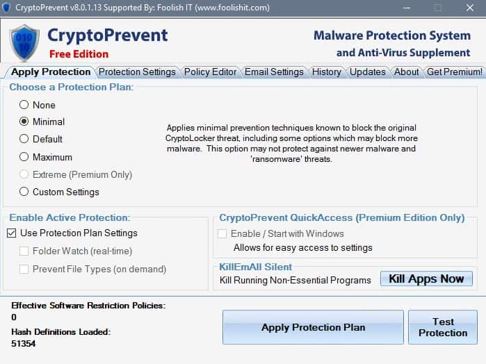 cryptoprevent 8
