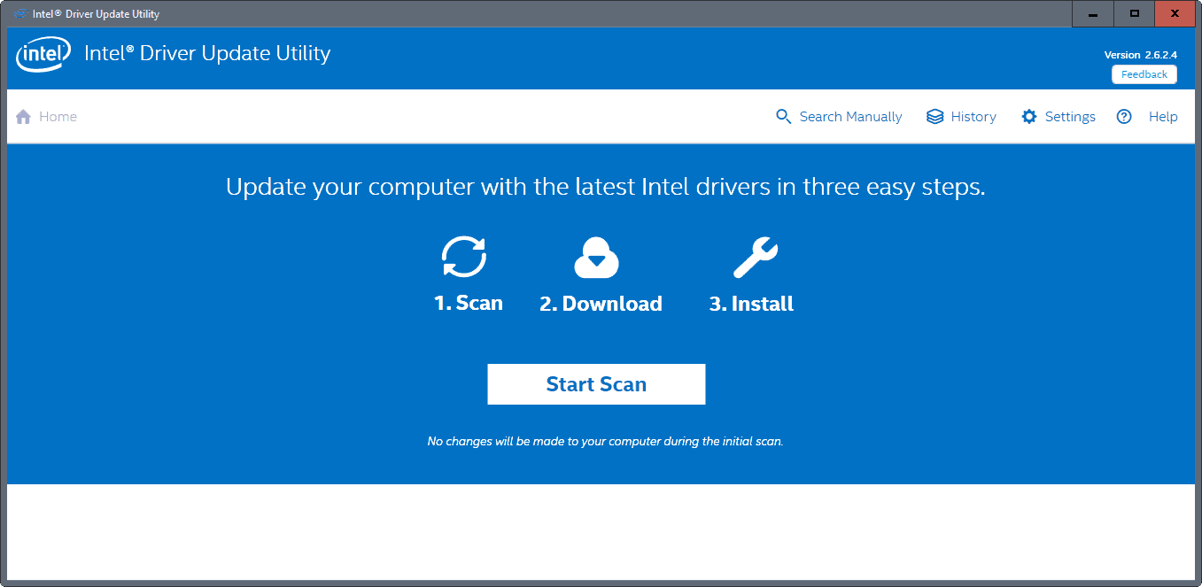 intel driver update utility windows