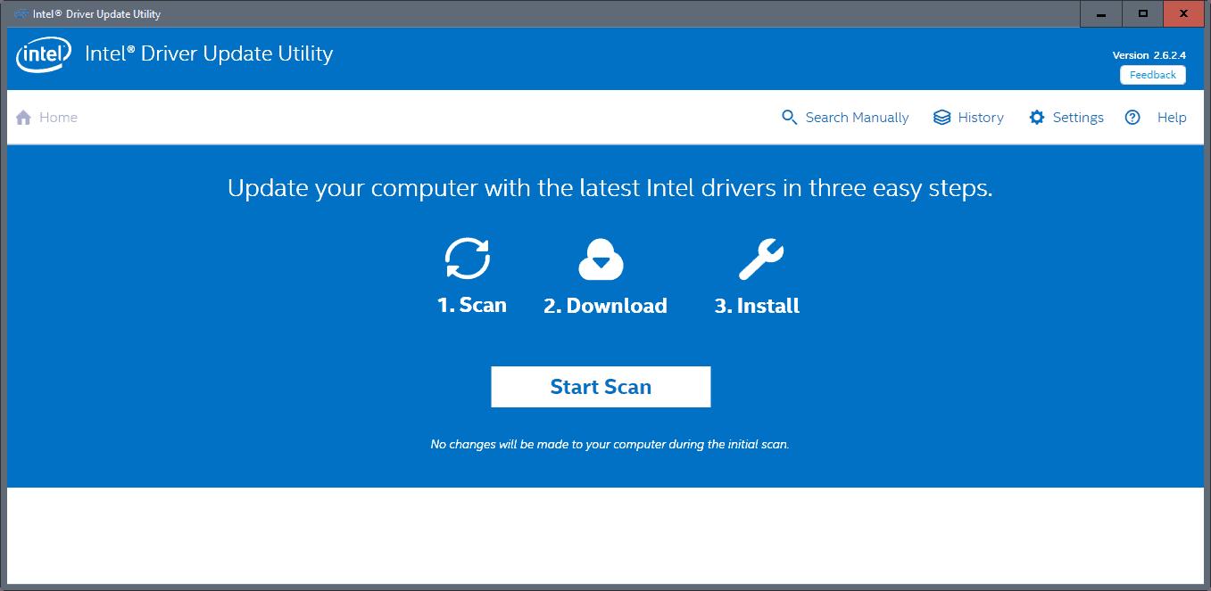 intel driver update utility windows