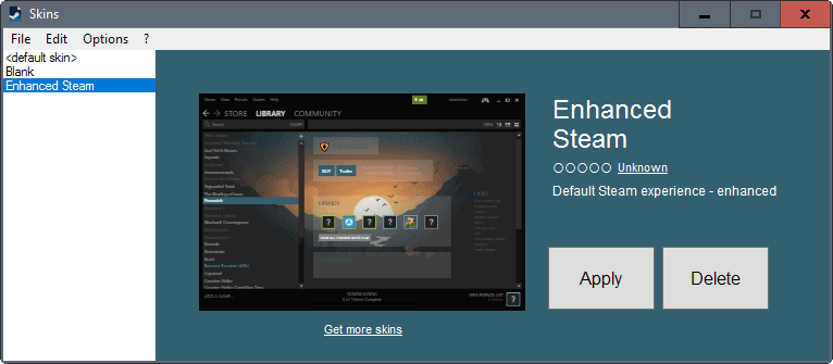 steam skin loader