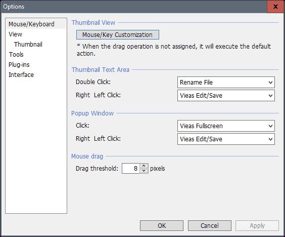 unifie settings