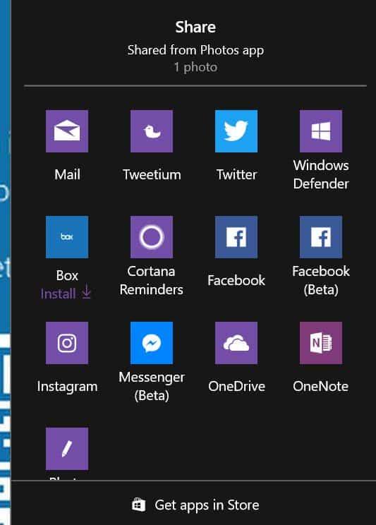 windows 10 share ads