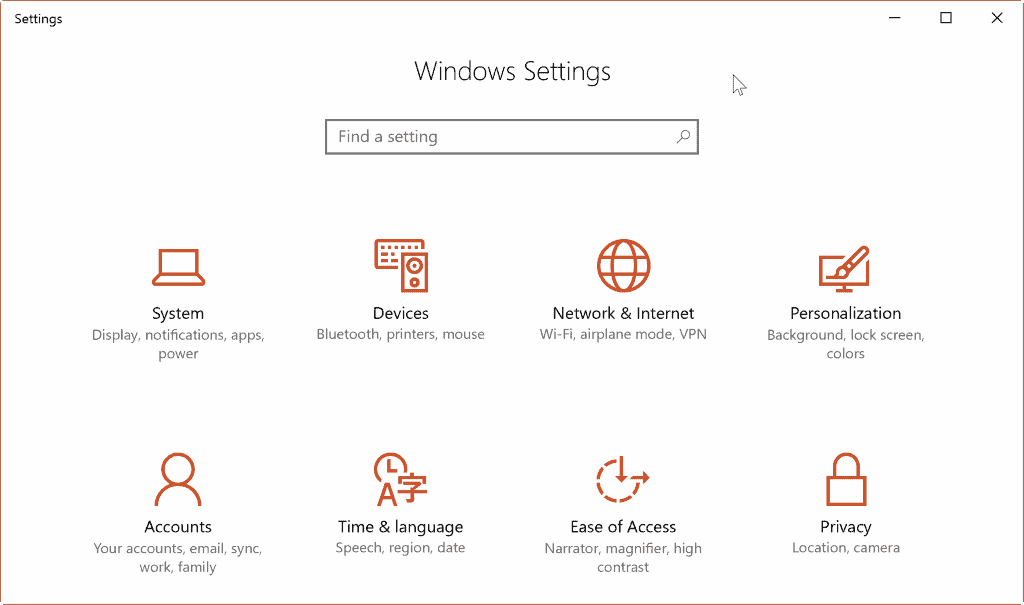 windows hello setup