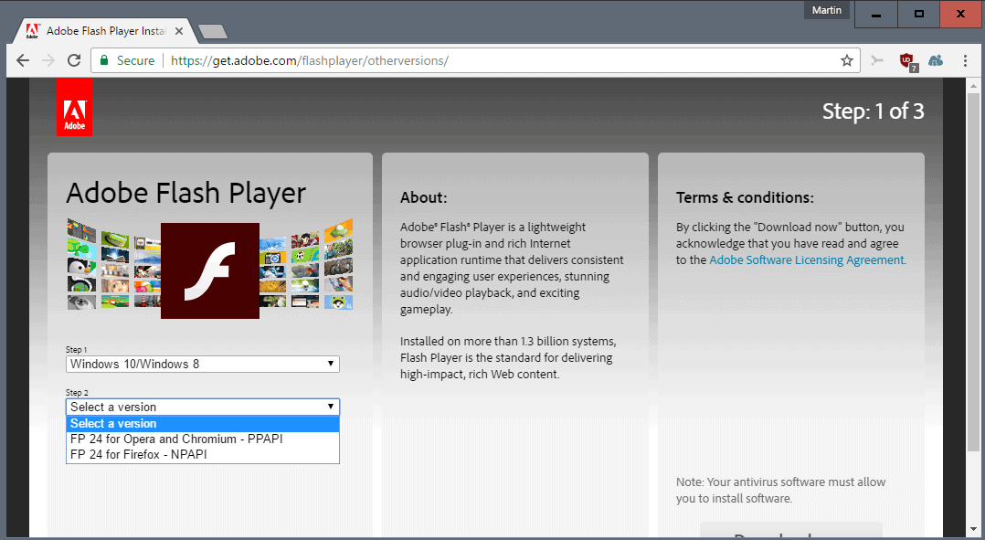 How to remove adobe flash player update pop-up scam virus.