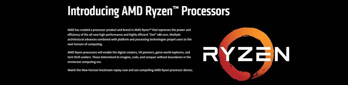 amd rizon windows 10