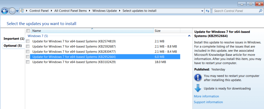 Windows KB2952664 and KB2976978 telemetry updates re-released (again)