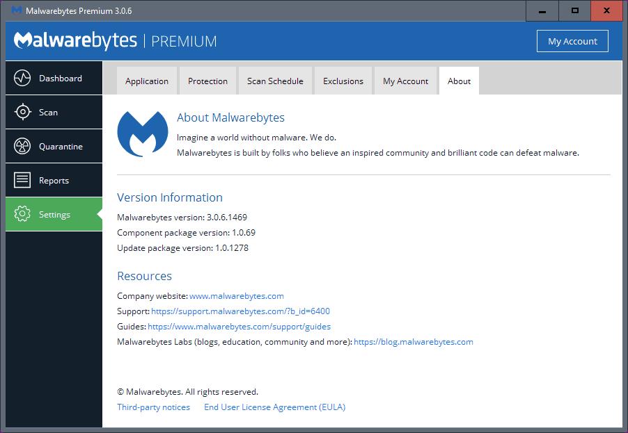 malwarebytes 3.0.6 component 1.0.69