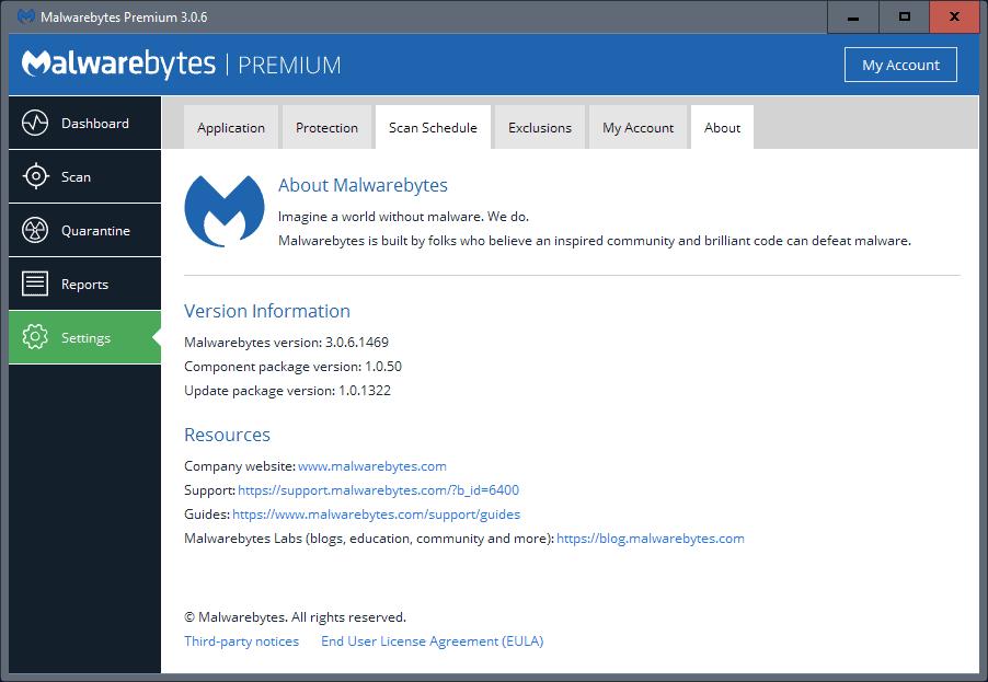 malwarebytes 3.0.6 update