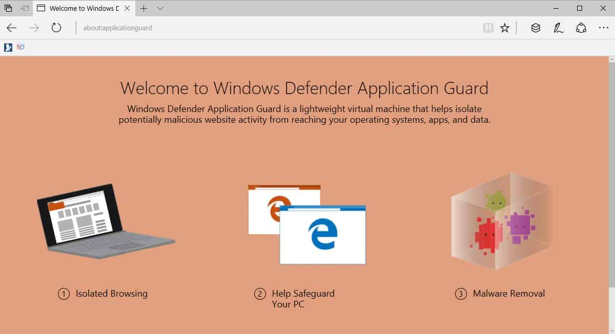 What Is Windows Defender Application Guard