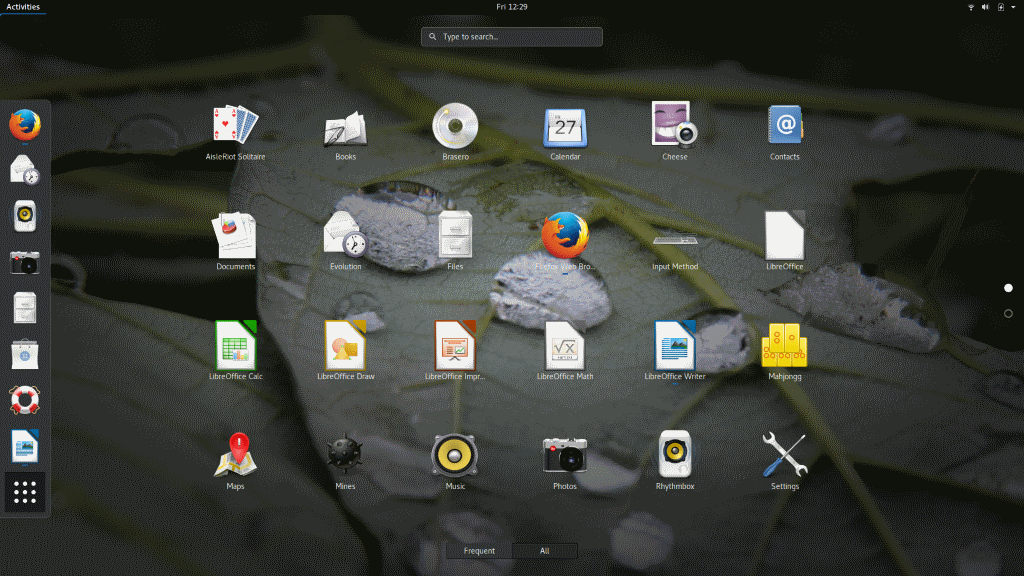 GNOME Applications