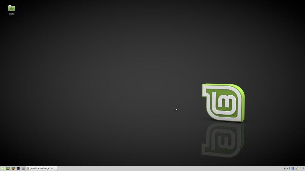 LinuxMint Default Desktop XFCE