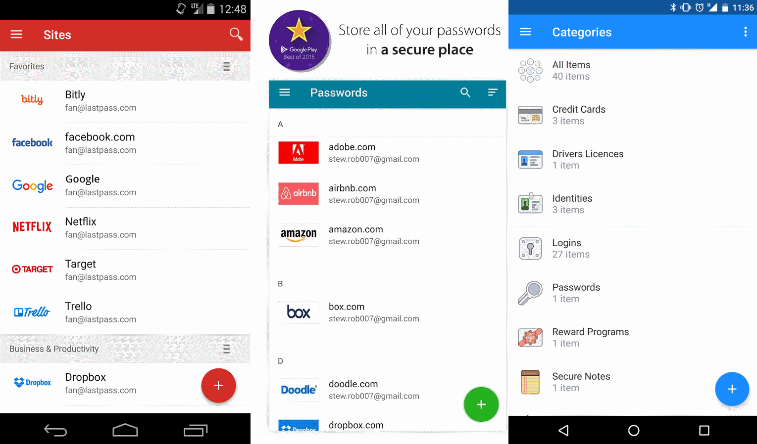 Security issues found in nine password managers for Android