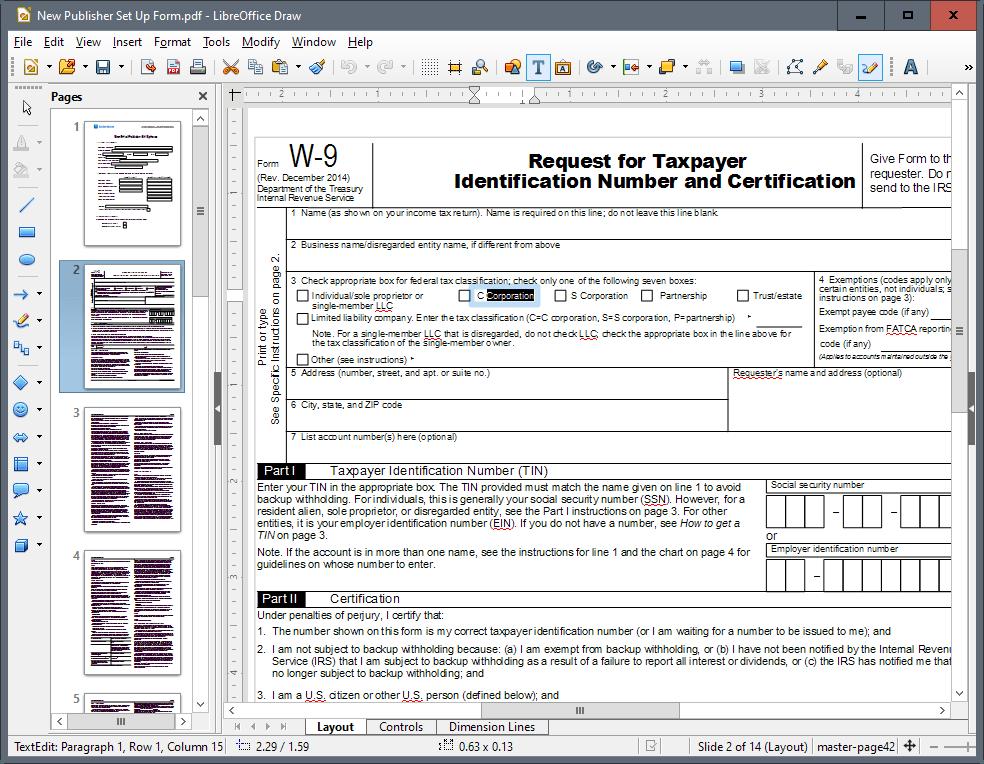 edit pdf text