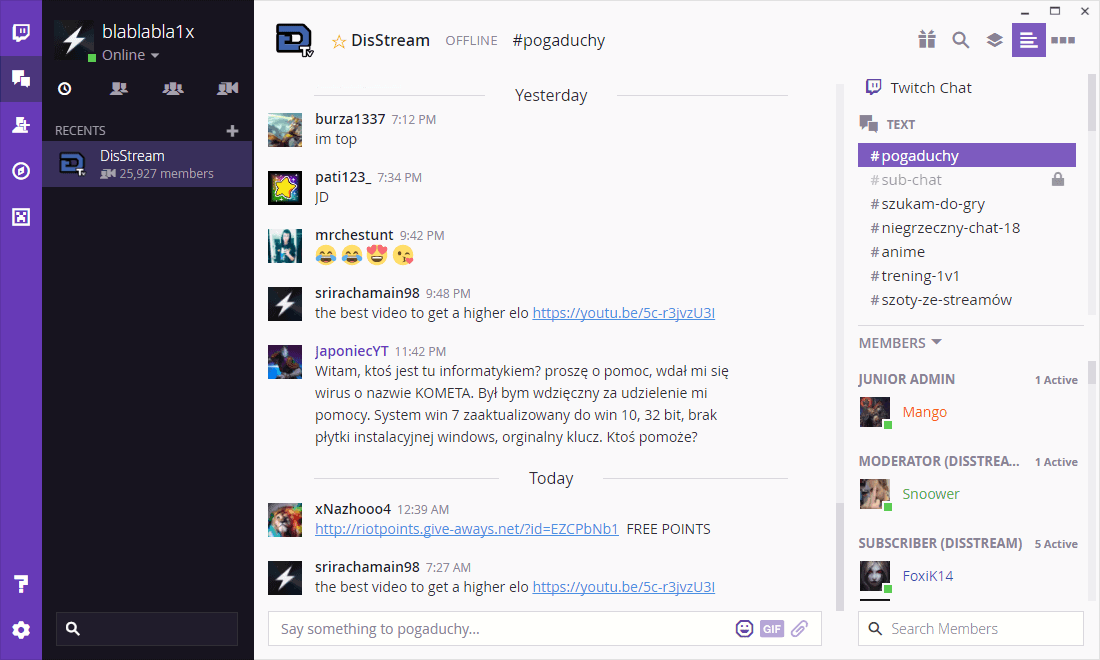 Twitch Desktop App: first look
