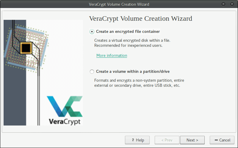 VeraCrypt Screen1